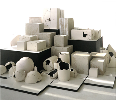 Jeanne Rimbert. Construction / Destruction